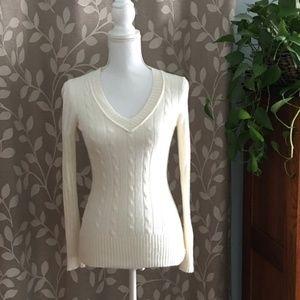 NWOT Ann Taylor LOFT Cable Knit Sweater Size S